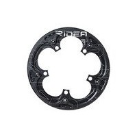 RIDEA(リデア) 5x-FR5ST-DG Single Speed Chain Ring with Chain Ring Guards ブラック
