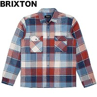 Brixton Archie L/S Flannel Shirt Light Blue Plaid S ネルシャツ 並行輸入品