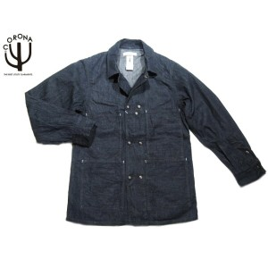 【半額!期間限定50%OFF!】CORONA(コロナ)x A-1 CLOTHING/#ACJ0001-17-02 8.5oz DENIM CROSS TOWN JACKET/indigo