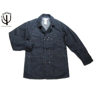 【半額!期間限定50%OFF!】CORONA(コロナ)x A-1 CLOTHING/#ACJ0001-17-02 8.5oz DENIM CROSS TOWN JACKET/indigo...