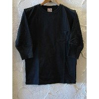 GLAD HAND(グラッドハンド)/HALF SLEEVE POCKET T BLACK