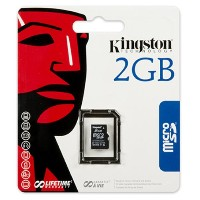 Kingston Retail pack / no adapter SDC/2GBSP