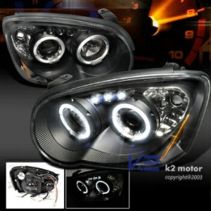 スバル インプレッサ ヘッドライト 2004-2005 Subaru Impreza WRX STi Rs Outback LED Projector Headlights Black 2004...