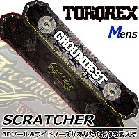 TORQREX トルクレックス GROUNDEST LIMITED SCRATCHER スクラッチャー 17-18 送料無料 20%OFF