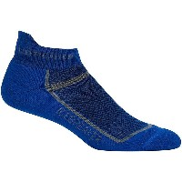 アイスブレーカー Icebreaker メンズ インナー ソックス【Multisport Cushion Micro Sock】Cobalt/Twister Heather