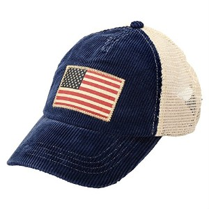 【ポロラルフローレン】 POLO by Ralph Lauren Corduroy Flag Trucker Cap 【並行輸入品】