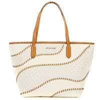 マイケルマイケルコース トートバッグ Michael Michael Kors Nouveau Hayley Large East West Signature Top Zip Tote ...