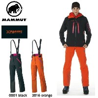 MAMMUT マムート 【EIGERシリーズ】ウィメンズ Mittellegi Pro Pants Women 1020-07461 0001/2016/black/orange GORE-TEX...