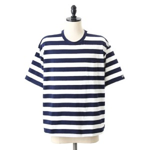 【SALE/セール】VOTE MAKE NEW CLOTHES [ヴォート メイク ニュークローズ] / STANDARD MARINE BIG TEE (スタンダード マリン ビッグT ポケット...