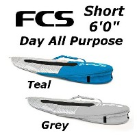 "FCS 3DxFit Day All Purpose Cover Shortboard 6'0"" エフシーエス ショートボード ハードケース"