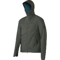 マムート Mammut メンズ アウター ジャケット【Ultimate Hooded Softshell Jacket】Titanium/Imperial
