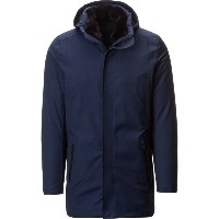 ウーバー UBER メンズ アウター ジャケット【Regulator Parka II LTD Savile】Navy Wool