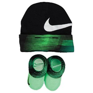 NIKE 2 PACK CRIB BOOTIES AND HAT BOYS INFANT ナイキ