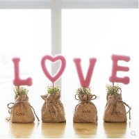 Garden creative home decorations living room Decoration simulation potted wedding gifts new home...
