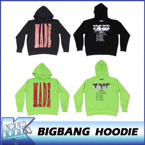 10th BIGBANG/HOODIE/BIGBANG THE  CONCERT 0.TO.10 FINAL IN SEOUL MD/公式グッズ/YG/ビッグバン/フードパーカー