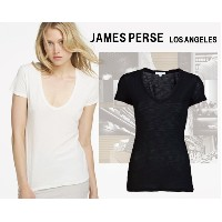 james perse ジェームスパース S/S RELAXED CASUAL ショートスリーブ 無地 Tシャツメール便発送可能