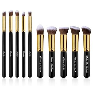 Maeline Essential Premium Collection Makeup Brush Synthetic Kabuki Set Cosmetics Foundation...