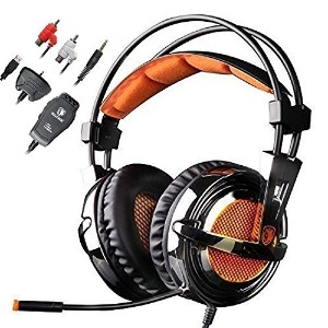 2016 NEW VERSION SADES SA-928S PS3 PS4 Xbox Headset With Microphone Stereo Lightweight Gaming...