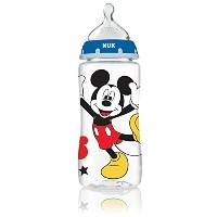 NUK 62049 Disney Baby Bottle with Perfect Fit Nipple  Mickey Mouse  10 Ounces  3 Pack