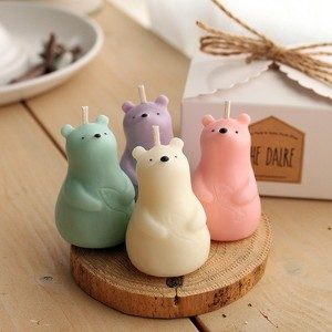 (The Dalre) Mini Bear Soycandle