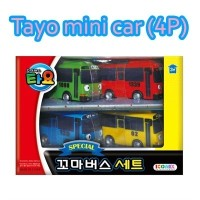★★New Arrival★★ Tayo Mini Car Set 4P / Tayo Mini Car Set 6P / Tayo Car Park Play (Given sweety)