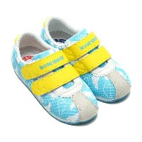 le coq sportif MONTPELLIER lll NY ART F(ルコック モンペリエ 3 NY アート F)(SAXE ANGEL)【キッズ スニーカー】17SS-I