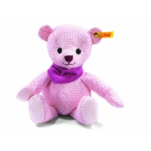 Steiff 238123 シュタイフ ぬいぐるみ テディベア 28cm Little Circus Teddy Bear for Newborn (Pale Pink)