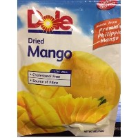 Dole Dries Mango made from premium philippine mango ドール ドライマンゴ 2.8オンスX6袋