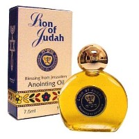 Top Seller Lion of Judah - Anointing Oil (Product No.: 7MS-21) by Blessing from Jerusalem