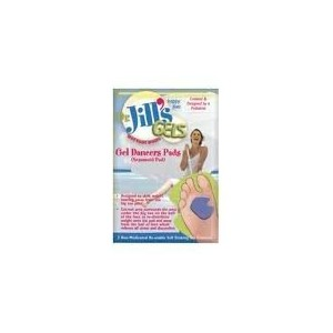 """Dr. Jill's Double Thick Gel Dancers Pads, 1/4"""" Right, 2/Box by Dr. Jill's Foot Pads [並行輸入品]"""