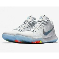 "Nike Kyrie 3 ""Time to Shine"" メンズ Pure Platinum/Multicolor-Volt ナイキ カイリー3 Kyrie Irving カイリー・アービング"