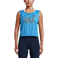 ナイキ レディース フィットネス スポーツ Nike Dry Running Top - Women's Woodland Camo W/ Vr28 Black Irid