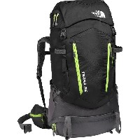(取寄)ノースフェイス テラ 55 バックパック The North Face Men's Terra 55 Backpack Tnf Black/Wild Lime