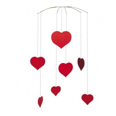 Flensted mobiles フレンステッドモビール Valentine Happy Hearts