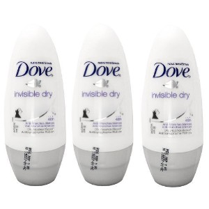 Dove Invisible Dry 48 Hs Anti-perspirant Roll-on Deodorant. 50 Ml. (Pack of 3) by Dove [並行輸入品]
