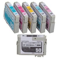 Color Creation/EPSON/IC6CL50互換/エコカートリッジ/6色パック CF-EIC6CL50プリンターインク カートリッジ エプソン プリンター プリンターインクエプソン...