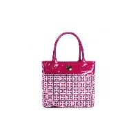 TOMMY HILFIGER(トミーヒルフィガー) トートバッグ 6928785 691 RASPBERRY/WHITE