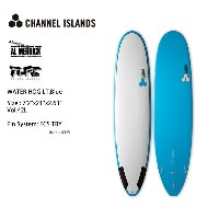"サーフテック チャネルアイランド アルメリック SURFTECH CHANNEL ISLAND AL MERRICK WATER HOG Lt.Blue 7'2""(TL PRO CARBON..."