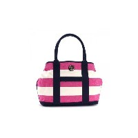 TOMMY HILFIGER(トミーヒルフィガー) トートバッグ 6932079 653 RASPBERRY/NATURAL【ポイント10倍】