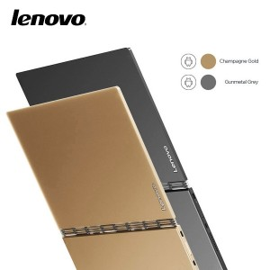 YOGA BOOK A Android 3in1 Tablet Notebook FHD 1920x1200 64GB GOLD / GRAY  Drawing Tablet / tablet PC...