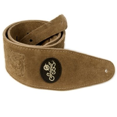 Seagull ギターストラップ Tan Western Suede Strap