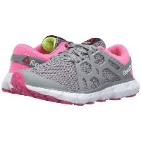 リーボック レディース シューズ・靴 スニーカー【Hexaffect Run 4.0 MTM】Flat Grey/Poison Pink/Rose Rage/White/Solar Yellow