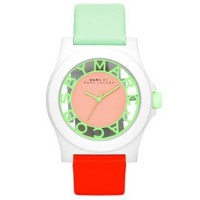 【2014年モデル】MARC BY MARC JACOBS[マークバイマークジェイコブス]MODEL NO.mbm4020 Henry ladies fluoro coral mint watch...