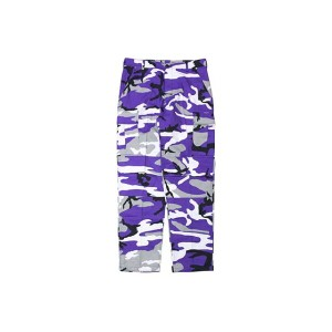 ROTHCO COLOR CAMO TACTICAL BDU PANTS (ULTRA VIOLET CAMO)ロスコ/カーゴパンツ/迷彩