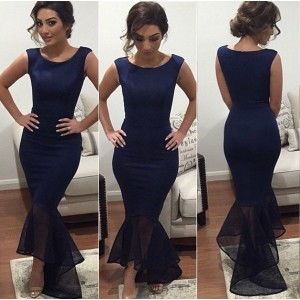 Women s Sexy Long Evening Party Ball Prom Gown Formal Bridesmaid Cocktail Dress