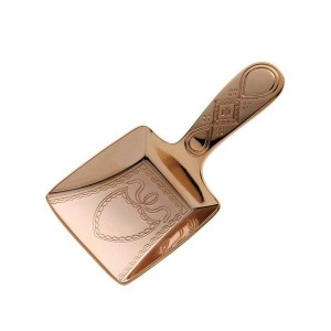 CP ティーキャディースプーン ダストパン ピンクゴールド CASUAL PRODUCT 510793 Tea Caddy Spoon PinkGold