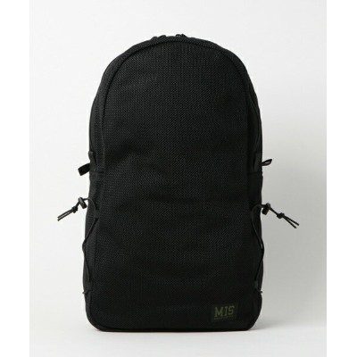 ■MIS(エムアイエス)■MESH DAYPACK P-1016-BLACK■MADE IN CALIFORNIA■送料無料