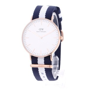 【SALE 40%OFF】ダニエル ウェリントン Daniel Wellington Glasgow Rose gold 36mm (マルチ)