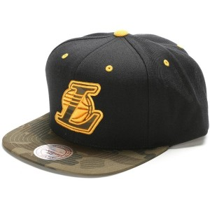 【SALE 40%OFF】ミッチェル アンド ネス MITCHEL & NESS atmos CAMO INFILL SNAPBACK (BLACKTYPE1)