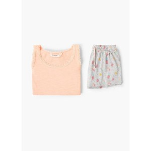 【SALE 50%OFF】パジャマ . ANANA (ピーチ)